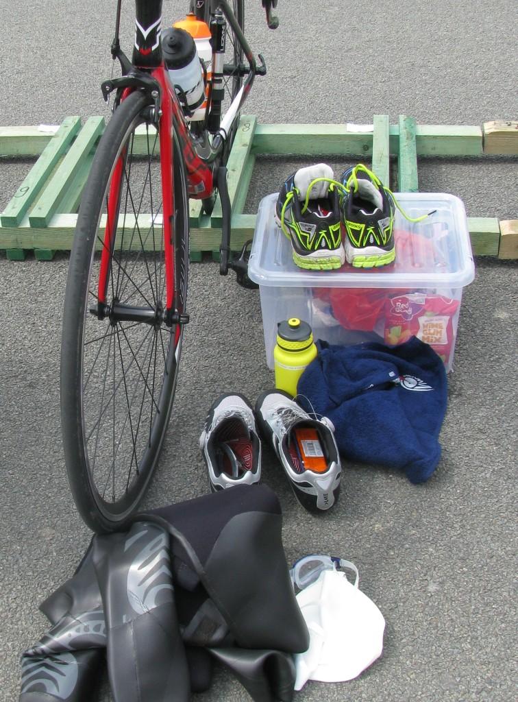 Spulletjes bij fiets