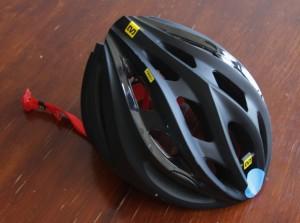de nieuwe helm