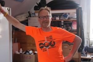 Henk in finisher-shirt