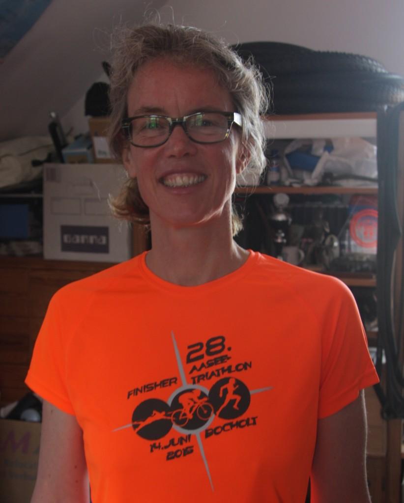 Finisher-shirt triathlon Bocholt