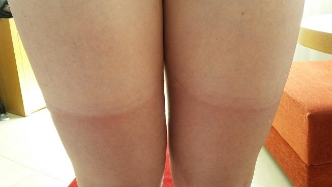 Wit-bruine benen