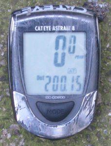 teller met 200,15 km