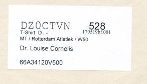Dr. Louise Cornelis, startnummer 528
