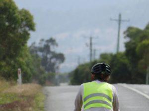 Op de fiets op Tasmanië
