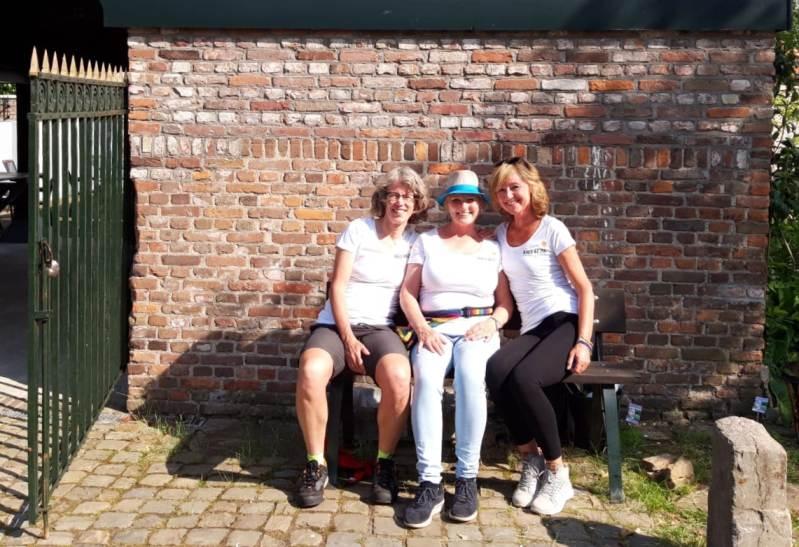 ff729b6da3f01c Hier de drie organisatoren, dus naast mij Loes en Marian: