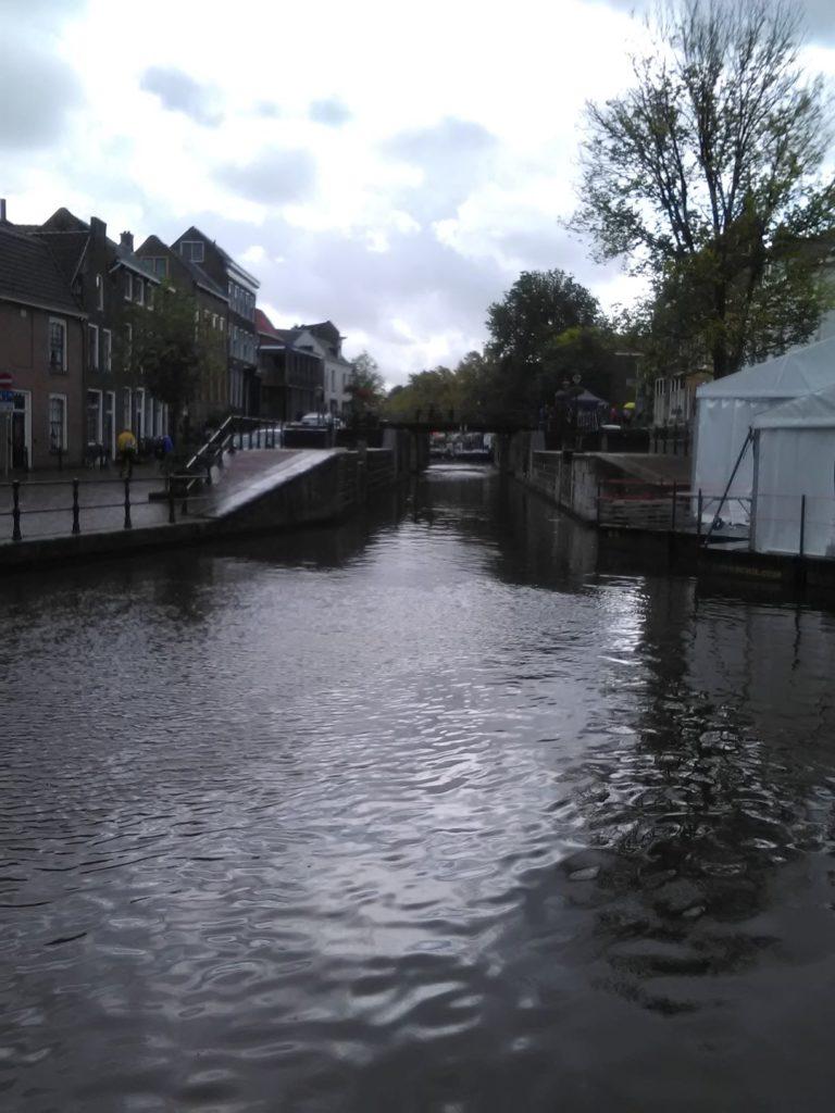 Sluisje in centrum Schiedam