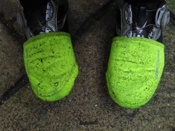 Schoenhoesjes met spetters